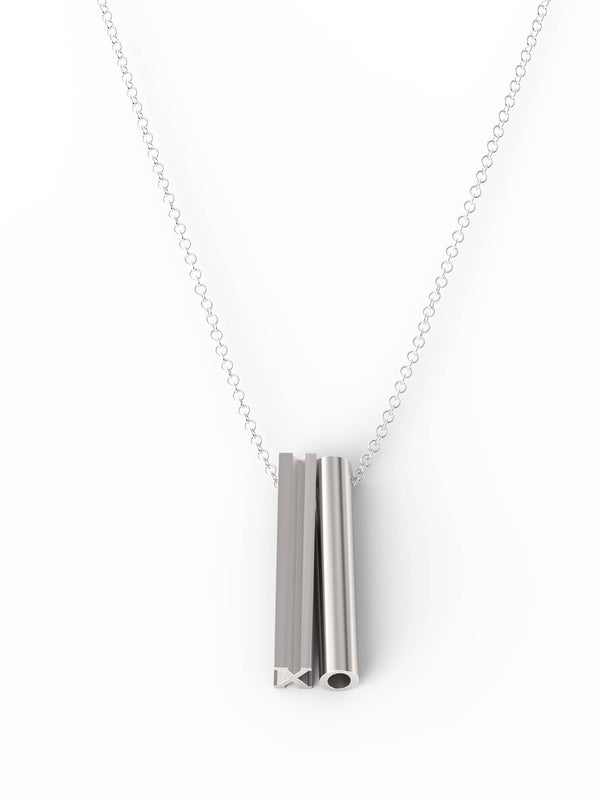 XO Necklace - Silver