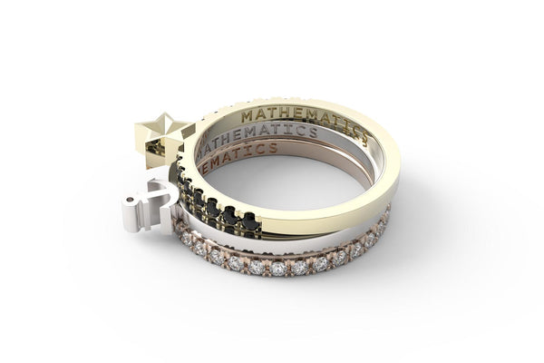 FORTITUDE Ring Stack - Mix Metal