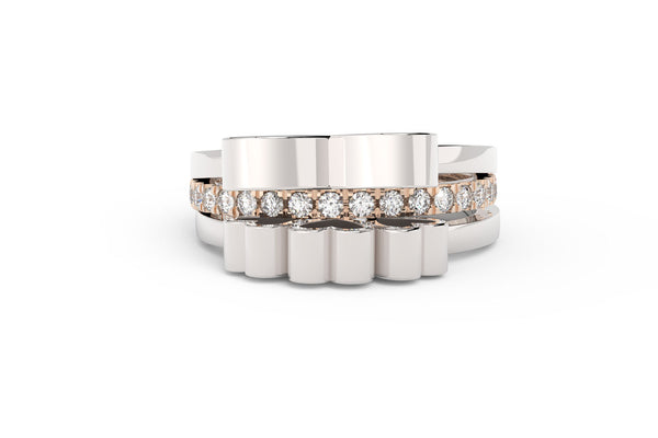 ETERNAL Ring Stack - Mix Metal