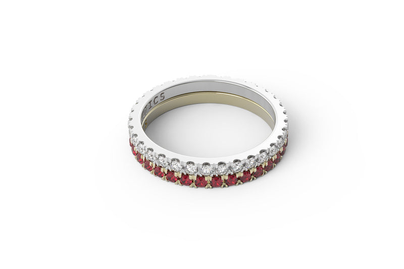 NOBLE Ring Stack - Mix Metal