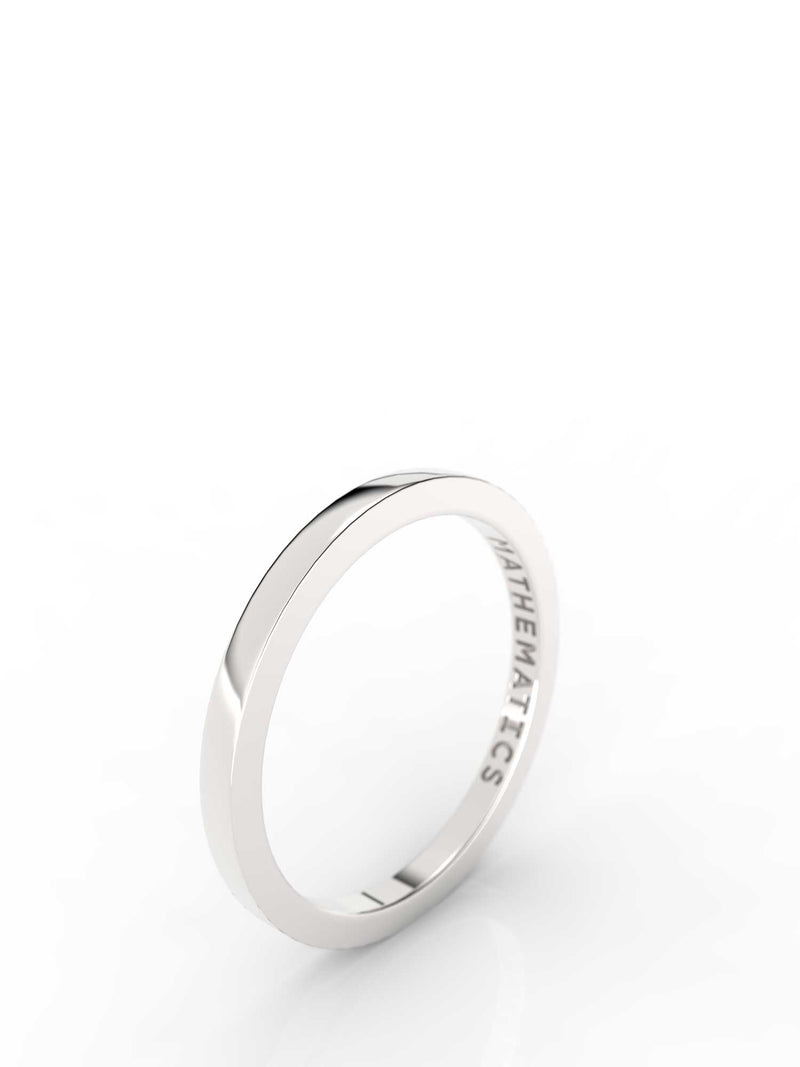 STACKING BAND RING STERLING SILVER