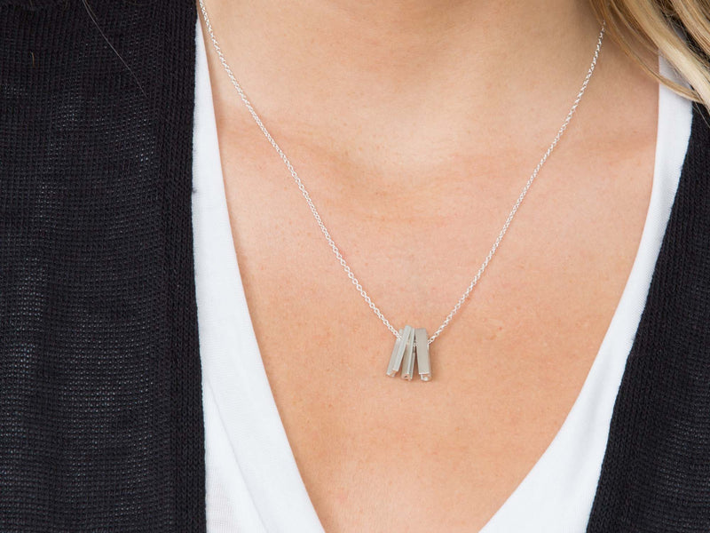 TWO - Number Short Pendant Necklace