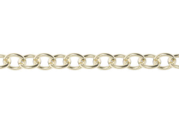 18'' STRINGER CHAIN-14k YELLOW GOLD VERMEIL-outlet
