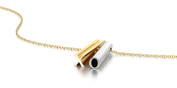 XO NECKLACE-14k YELLOW GOLD VERMEIL-SILVER-GOLD CHAIN-outlet