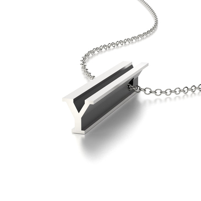 LETTER Y NECKLACE-STERLING SILVER-outlet