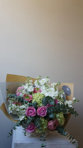 Sweet Rose and Ranunculus Bouquet