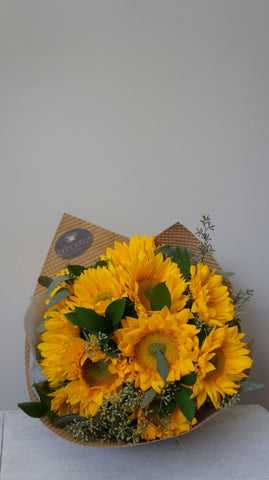 Simple Sunflowers Bouquet