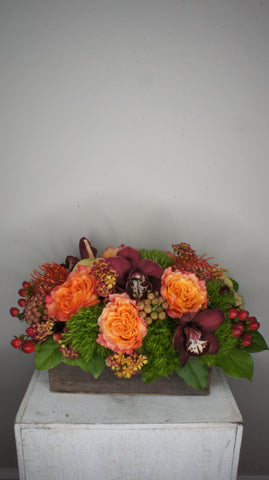 Autumn Woodland Centerpiece