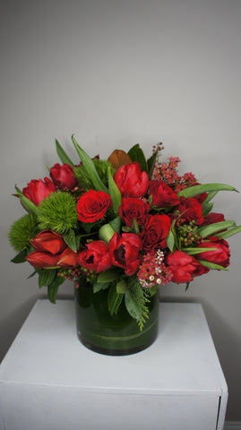 Classic Red Arrangement