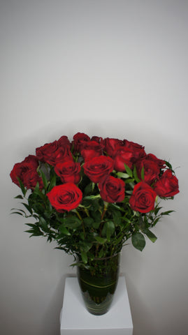 Two Dozen of Premium Red Roses