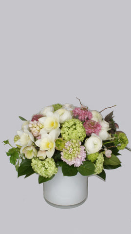 Chic Spring Garden Arrangement