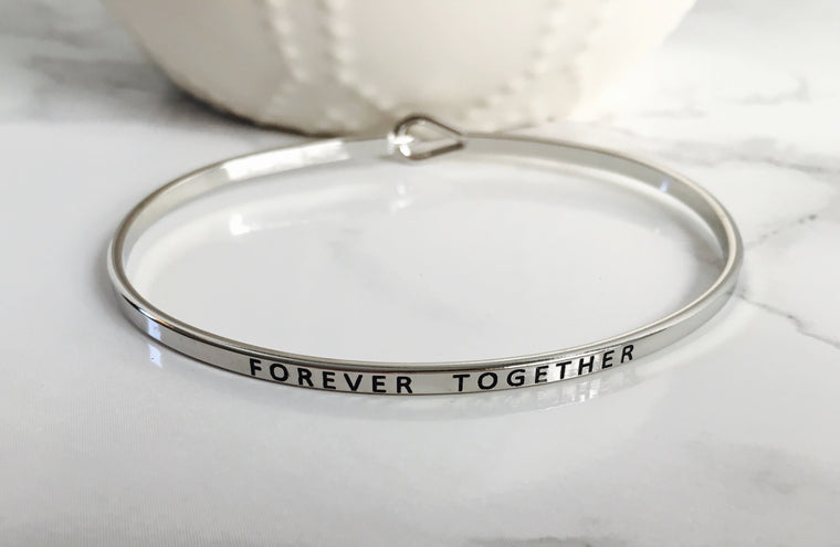 """FOREVER TOGETHER"" Bangle - Anna Jane  - 4"