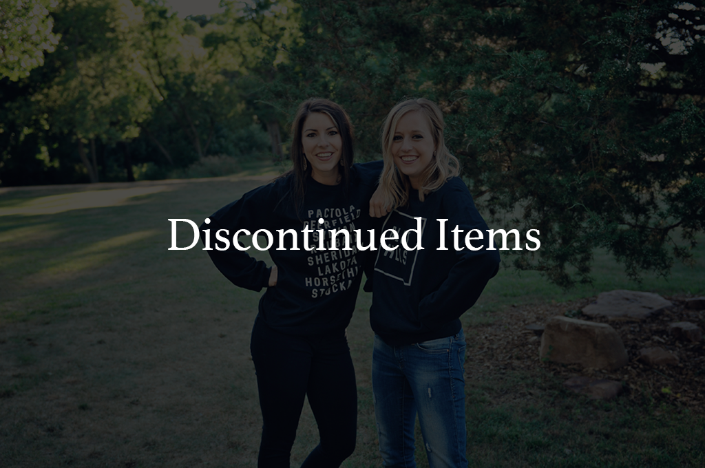 Discontinued Items
