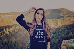 BLCK HLLS Lightweight Sweatshirt |  Black