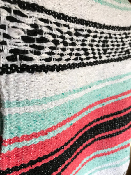 The Camp Blanket | Salmon Mint