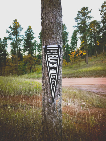 Home Sweet Black Hills Pennant Flag