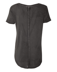 Home Sweet Black Hills Mineral Wash Droptail Tee | Dark Smoke