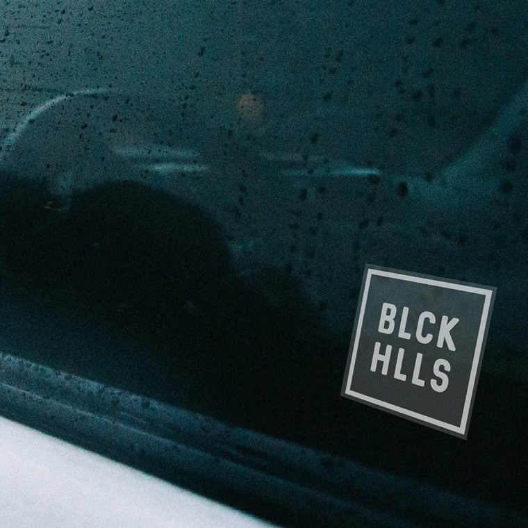 BLCK HLLS Vinyl Decal Sticker