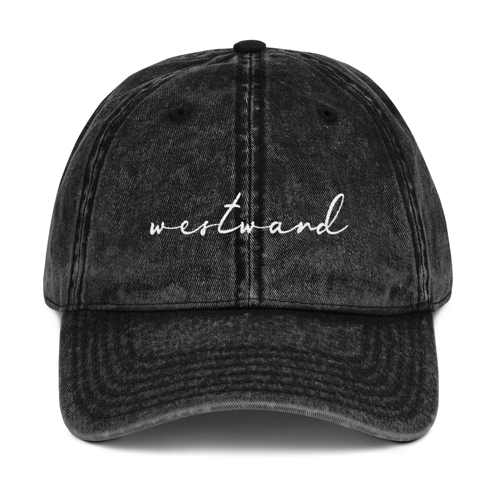 Westward Vintage Hat
