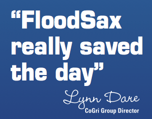 FloodSax Saved More than $500,000 in Equipment