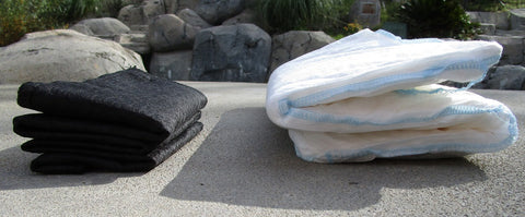 Quick Dam Flood Barrier Review folded Size vs Flood sacks