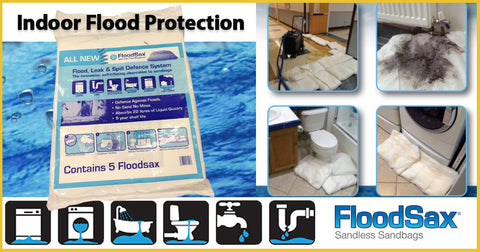 Indoor absorbent pad sorbent pad indoor floods leaky pipes sicks washing machine water main break