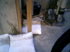sandless sandbag home depot Flood sacks in basement flood protection