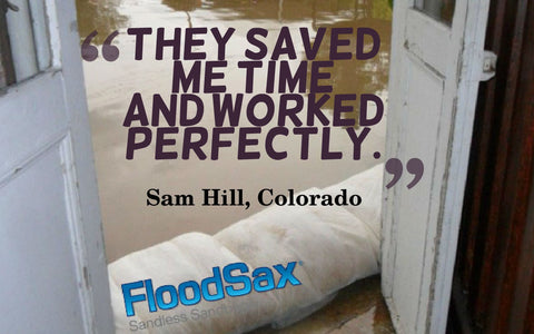 they saved me time and worked perfection flood barrier protection