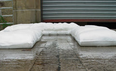 Floodsax flood sacks instant sandless sandbag alternative