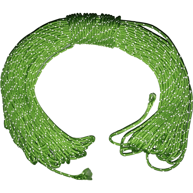 30Meter 1.8mm Dyneema cord with reflective polyester shell