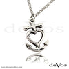 Heart and Anchor Pendant