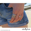 Anchor Ring (Narrow Small Horizontal Anchor)