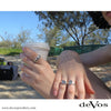 Anchor Ring for Women (Small Horizontal Anchor)