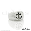 Anchor Signet Ring (Recessed Anchor)