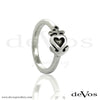Heart and Anchor Ring (Horizontal)