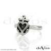 Heart and Anchor Ring (Vertical)