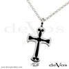 Cross Pendant 2 (Enamel Cross)