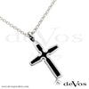Cross Pendant (Enamel Cross)