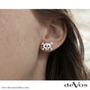 Skull (Jolly Roger) Earrings (Studs)