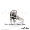 Skull (Jolly Roger) Ladies Ring
