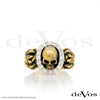 """Till Death"" Skull and Roses Diamond Ring"