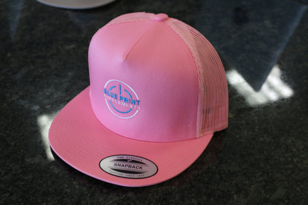 BluePrint Pink Snap Back Hat