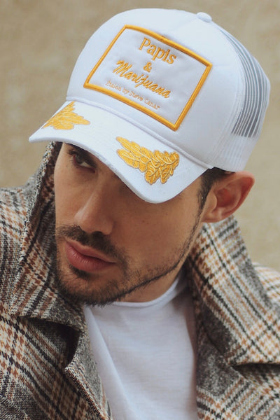 Papi Signature Trucker (White)