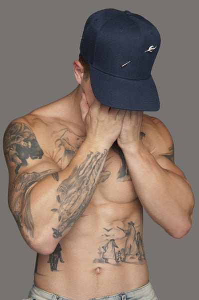 Blue Signature Pin Hat