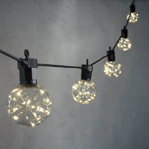 Twinkle Festoons (available with black or white flex)