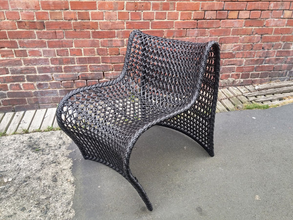 Wave Chair Outdoor - Black