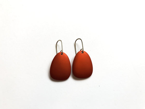 Kalinowski Small Antilia Earrings - Orange