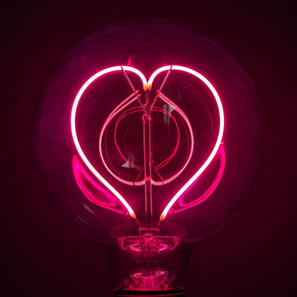Neon Bulb - It's Neon Love/ Pink Upright