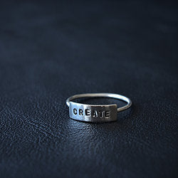 Love Winter 'Create' Ring