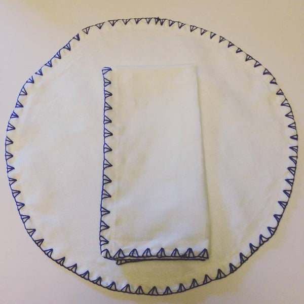 Chevron Stitched Placemat